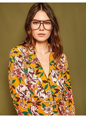 Koton Çiçek Desenli Ceket